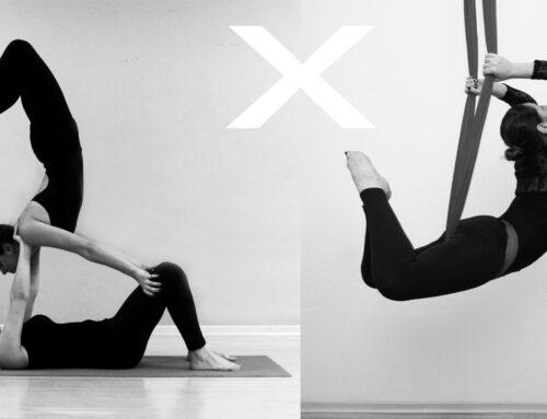 Acroyoga X Aerial Yoga – qual a diferença?
