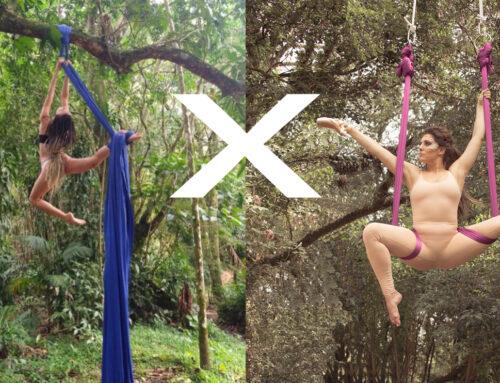 Tecido Acrobático X Aerial Yoga qual a diferença?